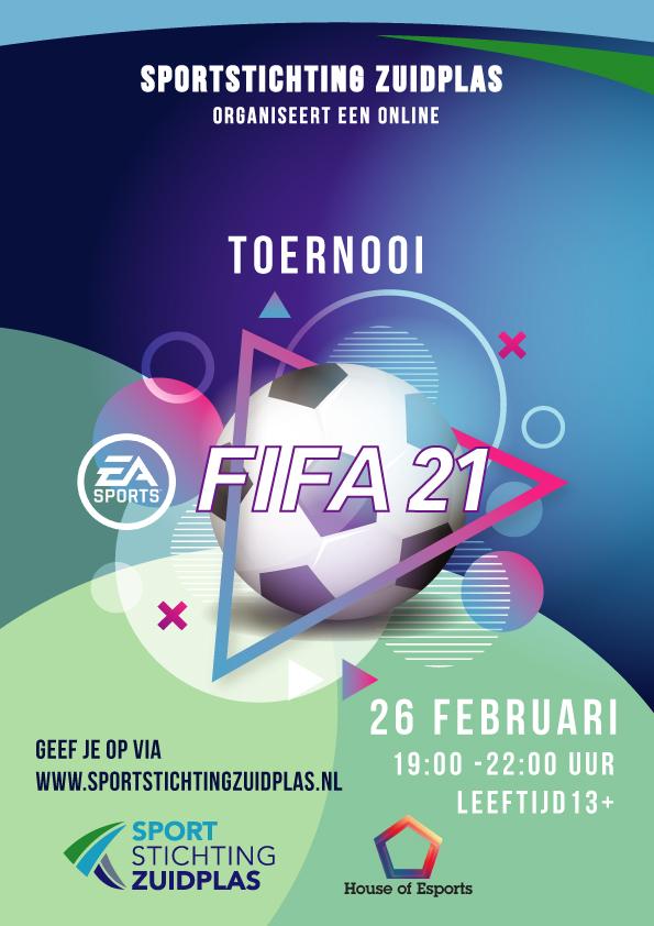 Online Fifa toernooi 13plus